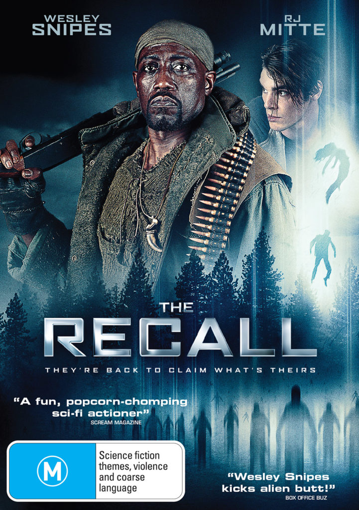 DEF2736 The Recall DVD front FINAL