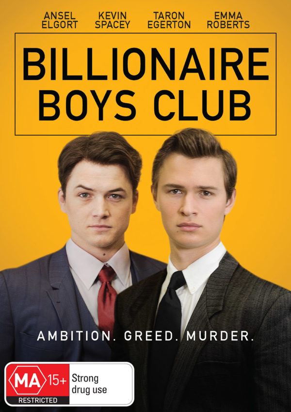 DEF2786 Billionaire Boys Club DVD front FINAL