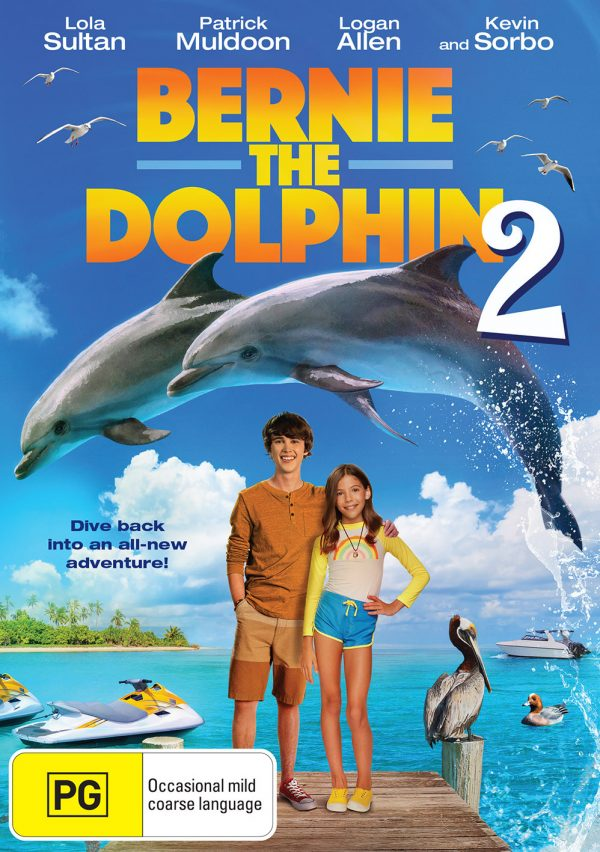 DEF2850 Bernie the Dolphin 2 DVD front FINAL