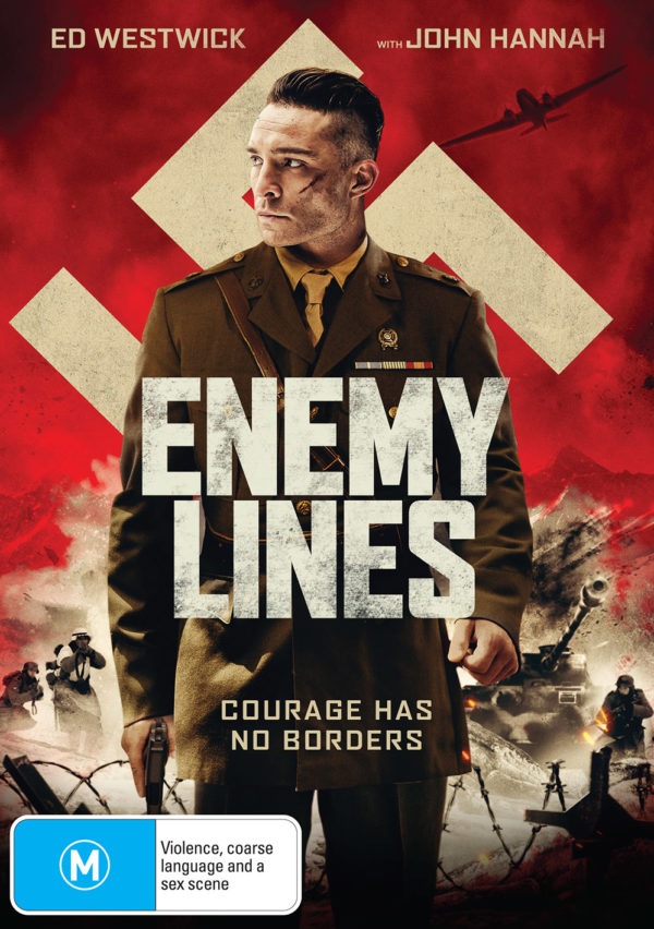 DEF2863 Enemy Lines DVD front FINAL