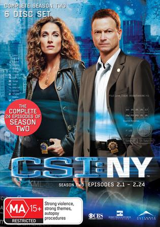 CSI: NY Season 2