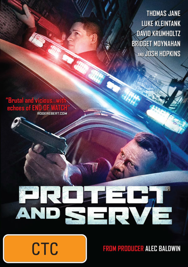Protect and Serve temp front