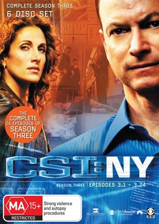 CSI: NY Season 3