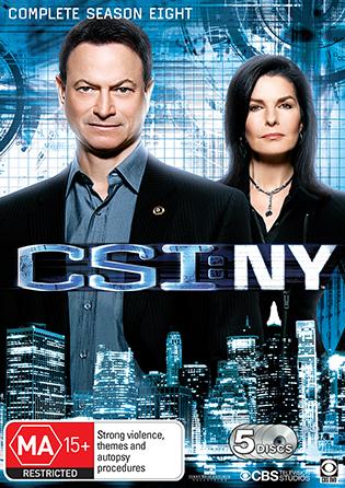 CSI NY Season 8
