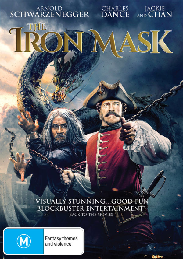 The Iron Mask DVD front