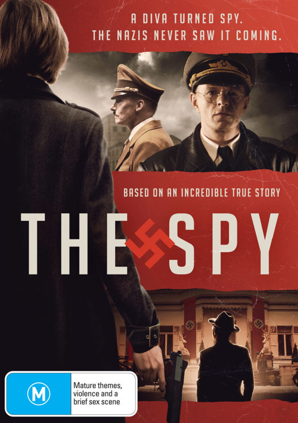 The Spy DVD front